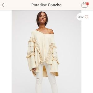 Paradise Poncho from FP